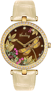 Швейцарские наручные  женские часы Blauling WB2118-01S. Коллекция Libellule от Bestwatch.ru