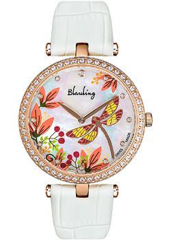 Швейцарские наручные  женские часы Blauling WB2118-07S. Коллекция Libellule