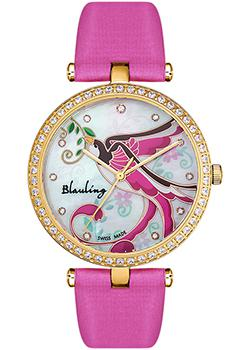 Швейцарские наручные  женские часы Blauling WB3115-04S. Коллекция Bird of Paradise