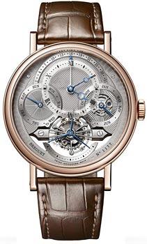 Breguet Швейцарские наручные  мужские часы Breguet 3797BR-1E-9WU