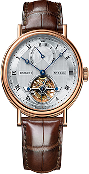 Breguet Швейцарские наручные  мужские часы Breguet 5317BR-12-9V6