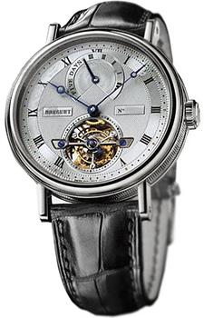 Breguet Швейцарские наручные  мужские часы Breguet 5317PT-12-9V6