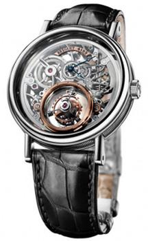 Breguet Швейцарские наручные  мужские часы Breguet 5335pt-42-9w6