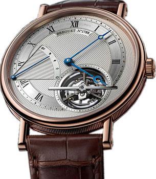 Breguet Швейцарские наручные  мужские часы Breguet 5377BR-12-9WU