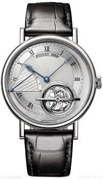 Breguet Швейцарские наручные  мужские часы Breguet 5377PT-12-9WU
