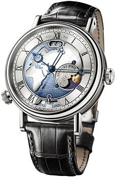 Breguet Швейцарские наручные  мужские часы Breguet 5717PT-EU-9ZU