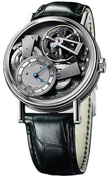 Breguet Швейцарские наручные  мужские часы Breguet 7047PT-11-9ZU