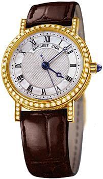 Швейцарские наручные  женские часы Breguet 8068BA-52-964DD00