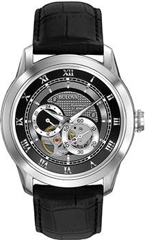 Японские наручные  мужские часы Bulova 96A135. Коллекция Automatic