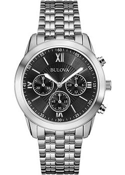 Японские наручные  мужские часы Bulova 96A175. Коллекция Classic