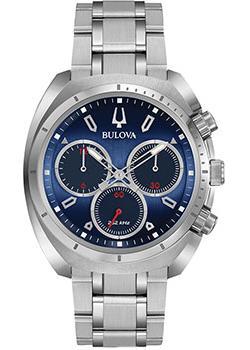Японские наручные  мужские часы Bulova 96A185. Коллекция CURV