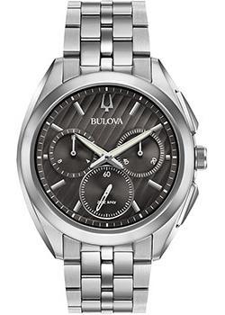Японские наручные  мужские часы Bulova 96A186. Коллекция CURV