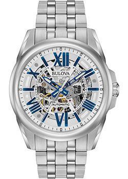 Японские наручные  мужские часы Bulova 96A187. Коллекция Automatic