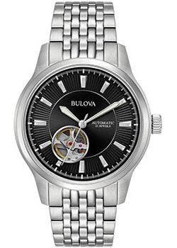 Японские наручные  мужские часы Bulova 96A191. Коллекция Automatic
