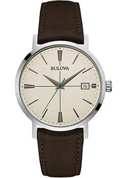 Японские наручные  мужские часы Bulova 96B242. Коллекция Classic
