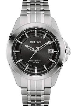 Японские наручные  мужские часы Bulova 96B252. Коллекци Precisionist