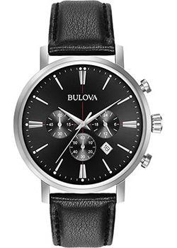 Японские наручные  мужские часы Bulova 96B262. Коллекция Classic