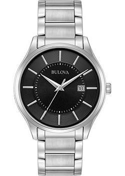 Японские наручные  мужские часы Bulova 96B267. Коллекция Classic