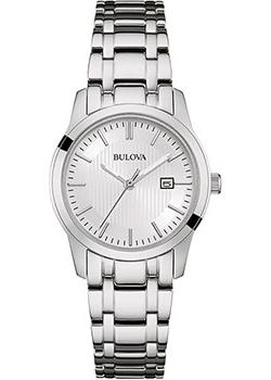 Японские наручные  женские часы Bulova 96M130. Коллекци Classic