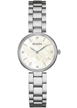 Японские наручные  женские часы Bulova 96S159. Коллекция Diamonds