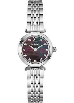 Японские наручные  женские часы Bulova 96S169. Коллекция Diamonds