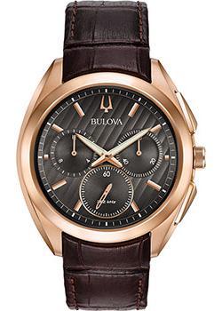 Японские наручные  мужские часы Bulova 97A124. Коллекци CURV