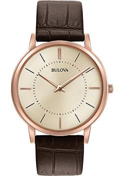 Японские наручные  мужские часы Bulova 97A126. Коллекция Classic