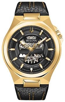 Японские наручные мужские часы Bulova 97A148. Коллекция Maquina фото