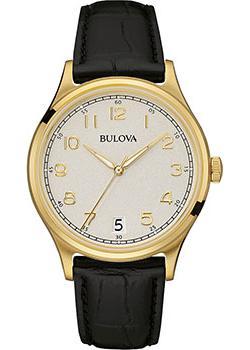 Японские наручные  мужские часы Bulova 97B147. Коллекция Classic