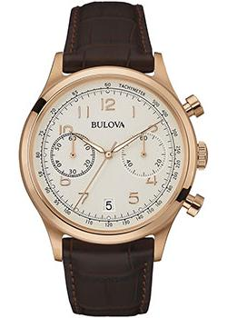 Японские наручные  мужские часы Bulova 97B148. Коллекция Classic