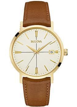 Японские наручные  мужские часы Bulova 97B151. Коллекция Classic