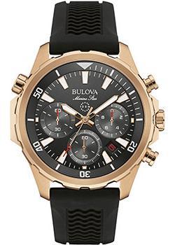 Японские наручные  мужские часы Bulova 97B153. Коллекция Marine Star