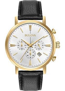Японские наручные  мужские часы Bulova 97B155. Коллекция Classic