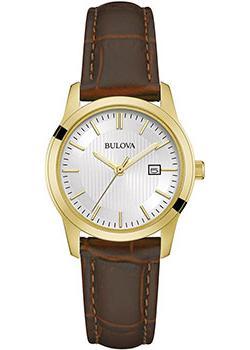 Японские наручные  женские часы Bulova 97M114. Коллекция Classic