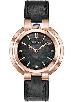 Японские наручные женские часы Bulova 97P139. Коллекция Rubaiyat фото