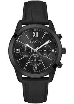 Японские наручные  мужские часы Bulova 98A152. Коллекци Classic
