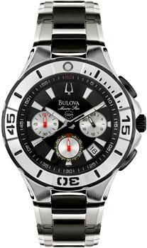 Японские наручные  мужские часы Bulova 98B013. Коллекция Marine Star Bestwatch 21070.000