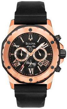 Японские наручные  мужские часы Bulova 98B104. Коллекция Marine Star