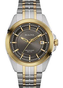 Японские наручные  мужские часы Bulova 98B273. Коллекци Precisionist