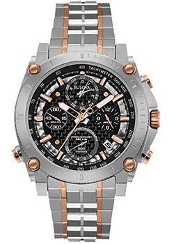 Японские наручные  мужские часы Bulova 98G256. Коллекци Precisionist