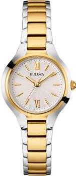 Японские наручные  женские часы Bulova 98L217. Коллекция Dress Ladies