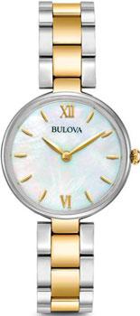 Японские наручные  женские часы Bulova 98L226. Коллекция Dress Ladies