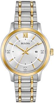 Японские наручные  женские часы Bulova 98P175. Коллекция Dress Ladies