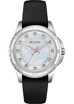 Японские наручные  женские часы Bulova 98S139. Коллекция Diamonds