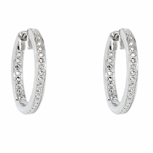 Серебряные серьги  C1009E90B31