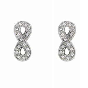Серебряные серьги  C1152E9003