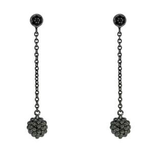 Серебряные серьги  C1199E9043