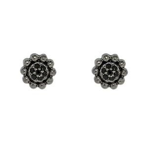 Серебряные серьги  C1201E9043