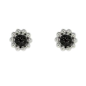 Серебряные серьги  C1202E9043