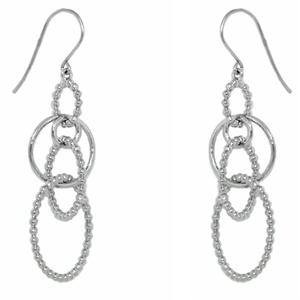 Серебряные серьги  Ювелирное изделие C1255E9000